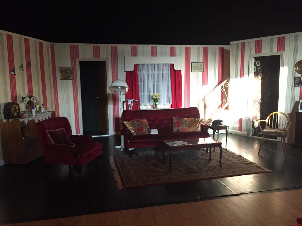 The stage all set for 'Don't Tell The Wife'