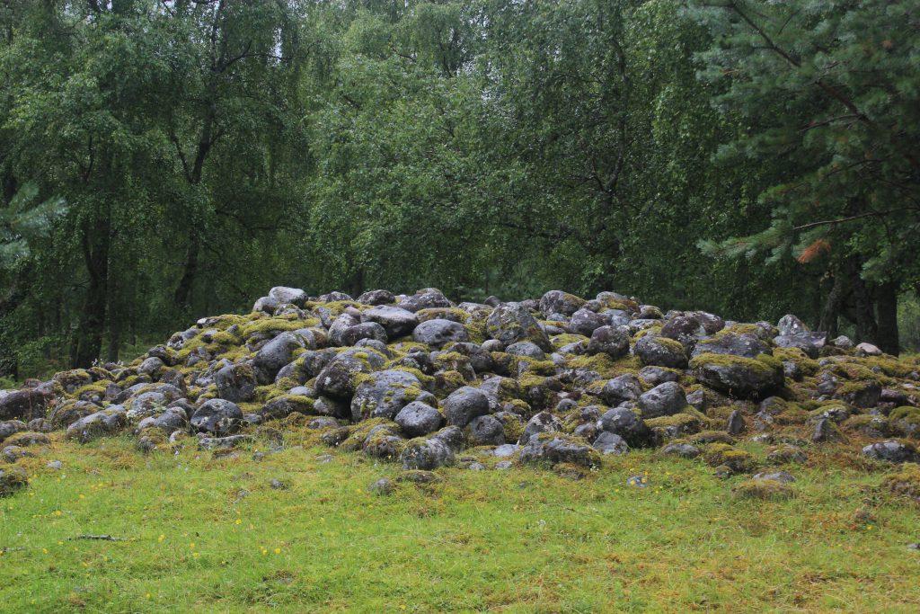 Viking graveyard
